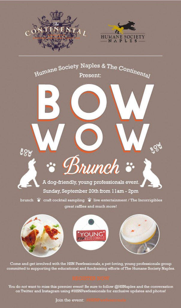 Bow Wow Brunch - HSN Pawfessionals
