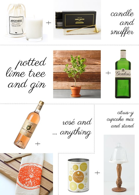 Entertaining: Hostess Gift Pairings