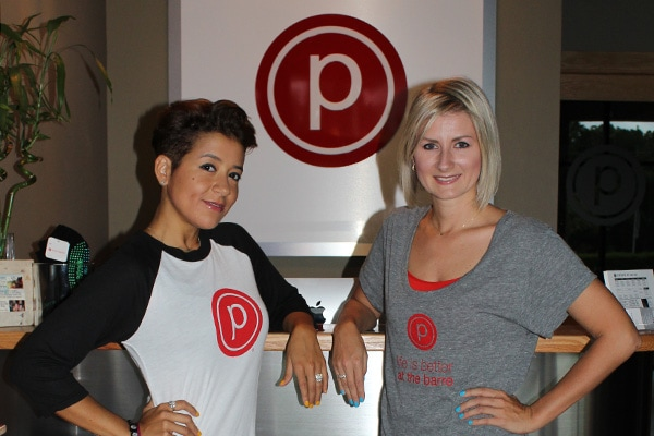 People: Olga Metzler and Lenka Valigurska, Pure Barre