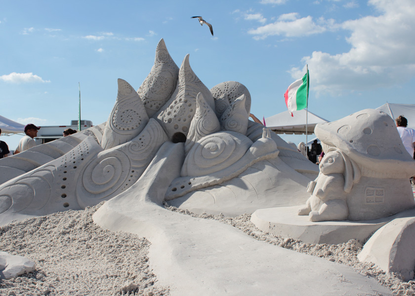sand sculpting, fort myers beach, championship, southwest florida, events, things to do