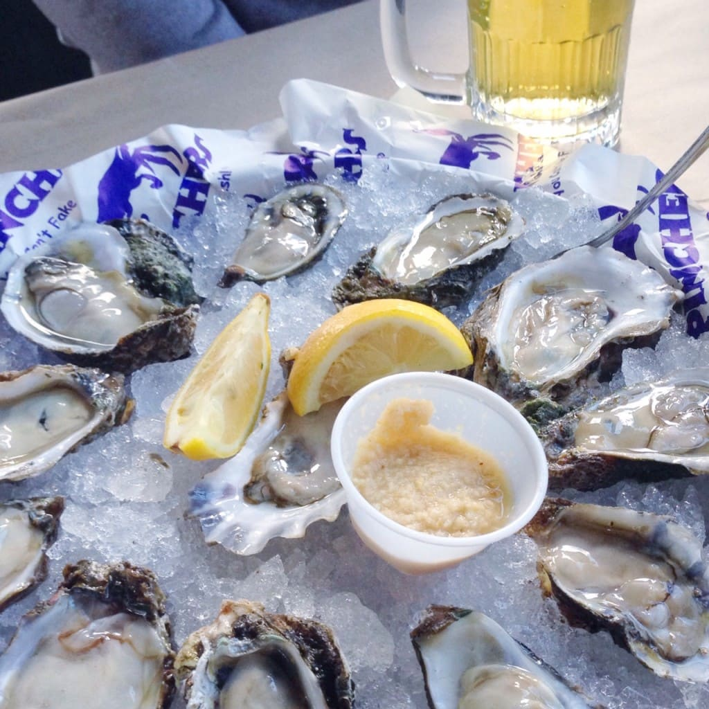 Living: Best Oysters in Naples