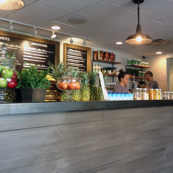 The New Naples: Delicious Raw Juice Bar