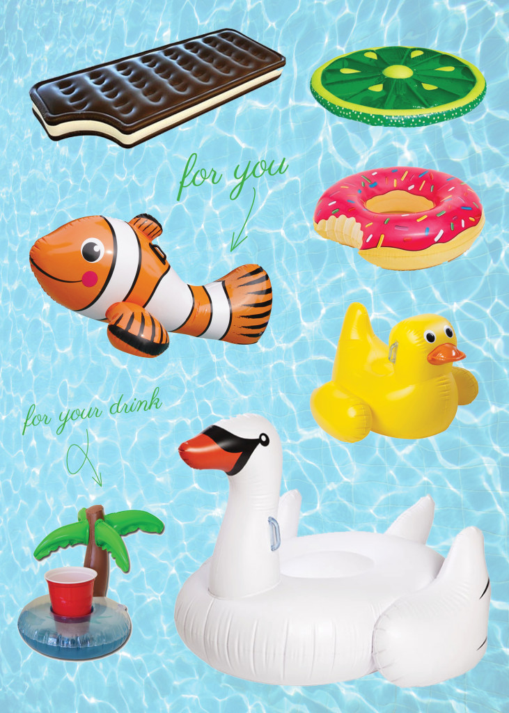 Living: Fun Pool Floats