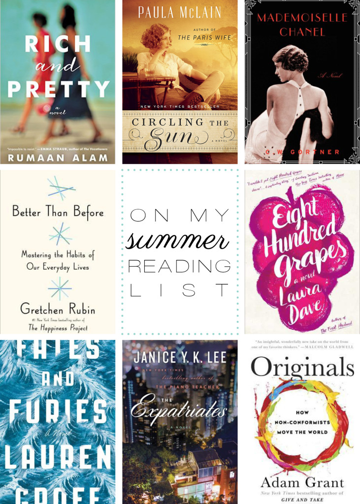 Lifestyle: On My Summer Reading List
