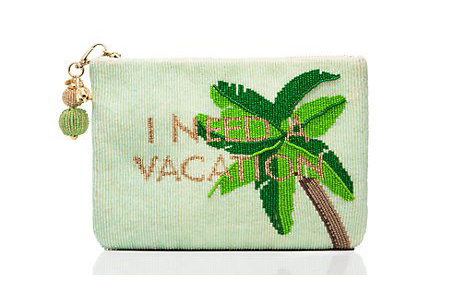 Buy of the Week: Palm Tree Beaded Pouch