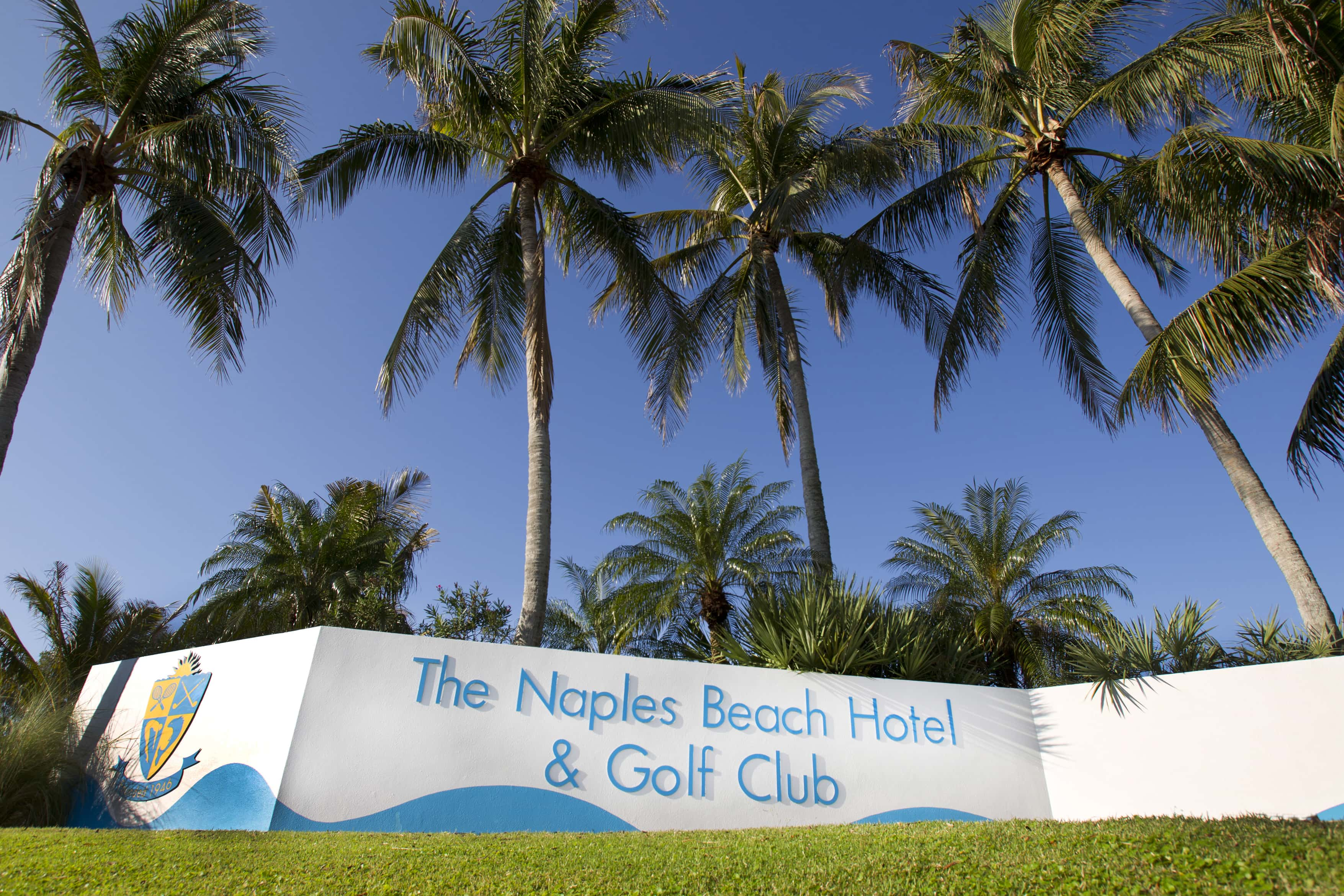 naples, beach, hotel, golf, club, history